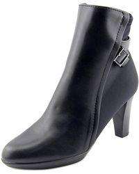 Alfani - Velvett Women Round Toe Synthetic Black Ankle Boot - Lyst