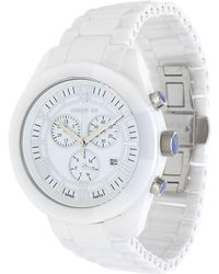 Cerruti 1881 - Watch Chronograph White Cra004z251g - Lyst