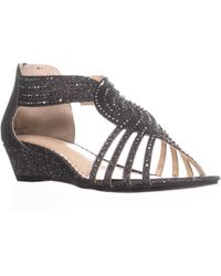 1d62fe0281f9 Lyst - Charter Club Cc35 Ginifur Sequined Braided Sandals