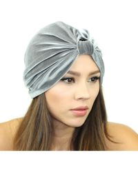 Kristin Perry - Stretch Velvet Turban - Lyst