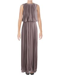 Vera Wang - Popover Chiffon Gown - Lyst