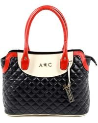 Andrew Charles by Andy Hilfiger - Andrew Charles Womens Handbag Black Hope - Lyst