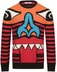 Givenchy | Men's Red Wool Sweater | Lyst
