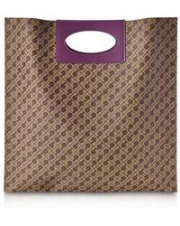 Gherardini - Women's Brown Cotton Tote - Lyst