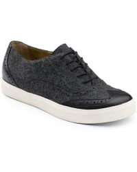 G.H.BASS - . Womens Lacey Wingtip Oxford Shoe - Lyst
