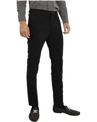 Marc By Marc Jacobs | Mens M4004925nr Black Cotton Pants | Lyst