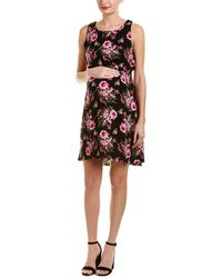 Everly Grey - Maternity Crystal Shift Dress - Lyst
