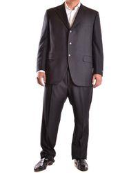 Burberry - Men's Mcbi056164o Grey Wool Suit - Lyst