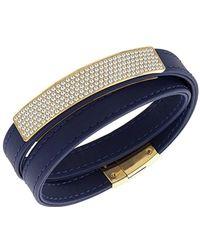 Swarovski - Crystal Plated Vio Bracelet - Lyst