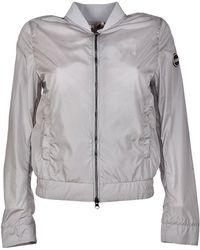 COLMAR ORIGINALS - Women's Grey Polyamide Outerwear Jacket - Lyst