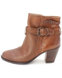 Söfft - Womens Wyoming Leather Almond Toe Ankle Fashion Boots - Lyst