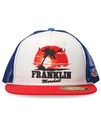 Franklin & Marshall - Men's Red Polyamide Hat - Lyst