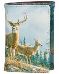 Buxton - Men's Wildlife Trifold Wallet - Lyst