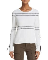 French Connection - Slim-fit Skye Cotton Sweater - Lyst
