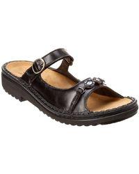 Naot - Kyra Leather Sandal - Lyst