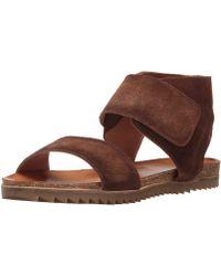 Miz Mooz - Womens Rori Leather Open Toe Casual Espadrille Sandals - Lyst