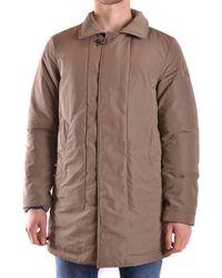 Peuterey | Men's Brown Polyester Coat | Lyst