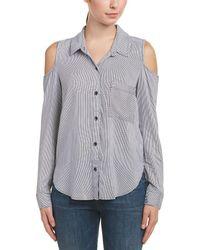 Splendid - Cold-shoulder Shirt - Lyst