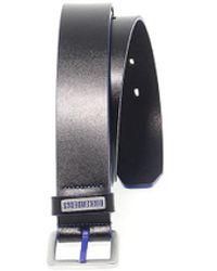 Bikkembergs - Men's Black Leather Belt - Lyst