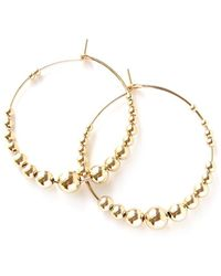April Soderstrom Jewelry - Featherweight Beaded Hoops - Small - Lyst