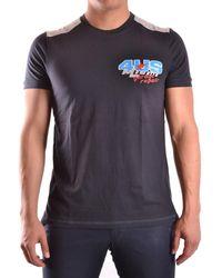 Cesare Paciotti   Men's Mcbi068005o Blue Cotton T-shirt   Lyst
