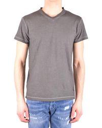 Dondup - Men's Grey Cotton T-shirt - Lyst