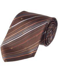 Louis Vuitton - Brown Silk Tie - Lyst