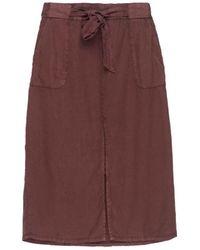 Bobeau - Sark Tie Waist Skirt Plus Size - Lyst