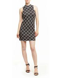 Romeo and Juliet Couture - Romeo And Juliet Couture Geo Knit Dress - Lyst