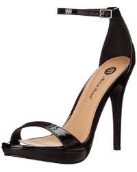 Michael Antonio - Womens Lovina Open Toe Formal Ankle Strap Sandals - Lyst