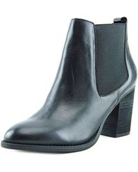 Steven by Steve Madden - Womens Troyan Leather Closed Toe Ankle Chelsea Boots - Lyst