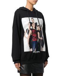 Jeremy Scott - Women's Black Cotton Sweatshirt - Lyst