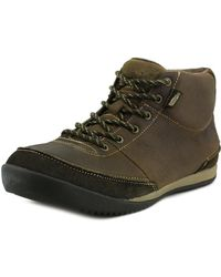 Simple - Altitude Men Round Toe Leather Brown Boot - Lyst