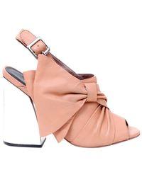 Ivy Kirzhner - Beau Suede High Heel Sandal - Lyst