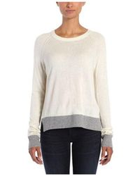 Rag & Bone/jean Woman Elsie Split-back Open-knit Cotton Sweater White Size S Rag & Bone Outlet Wholesale Price Visa Payment For Sale Choice Sale Online nL2uEu4