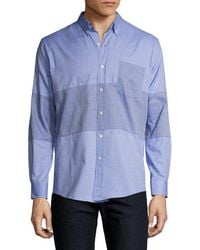 Timo Weiland - Marco Middle Stripe Sportshirt - Lyst