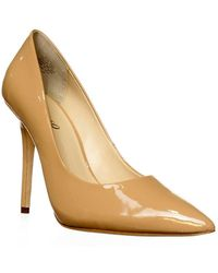 Boutique 9 - Sally Pointed Toe Pump Heels - Natural - Lyst