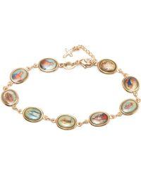 Peermont - Gold Religious Bracelet - Lyst