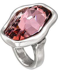 Uno De 50 - Flash Silver Ring - Lyst