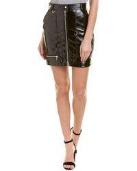 Bardot - Shiny Mini Skirt - Lyst