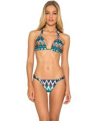 Lenny Niemeyer - Adjustable Lycra Halter Bikini Top - Lyst
