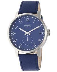 Simplify - Men's The 3400 Quartz Watch - Lyst