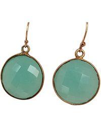 Blue Candy Jewelry - Lollipop Gemstone Earrings - Lyst