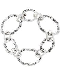 Peter Thomas Roth Fine Jewelry - Peter Thomas Roth Signature Classic Oval Bracelet In Sterling Silver - Lyst