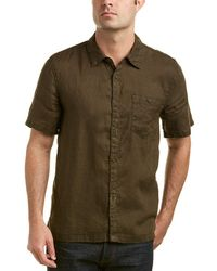 Blank NYC - Friends With Penalties Linen Woven Shirt - Lyst