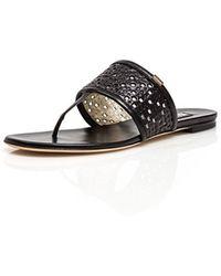 Emy Mack - Women's Flat Open Toe Thong Sandal - Lyst