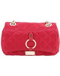 Liu Jo - Women's Red Polyester Shoulder Bag - Lyst