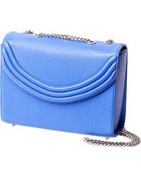 Lauren Cecchi New York - Mezzo Medium Chain Handbag In Electric Blue - Lyst