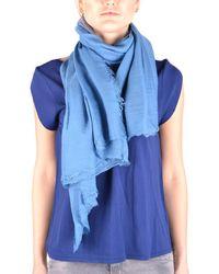 Altea - Women's Blue Modal Scarf - Lyst