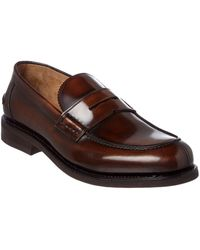 Ferragamo - Facundo Leather Penny Loafer - Lyst